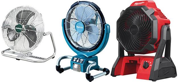 Akku-Ventilator-Lüfter Test Vergleich