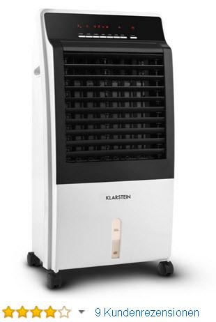 Klarstein CTR-1 Mobile-Klimaanlage Verdunstungskühler Klimagerät