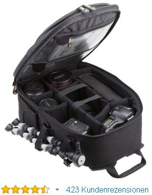 AmazonBasics SLR-Kamerarucksack für Spiegelreflexkameras, Objektive und Stative