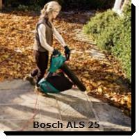 Bosch ALS 25 Laubsager